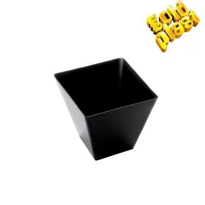 BOWL ROMBO FINGUERFOOD 5cm NEGRO B25 PS