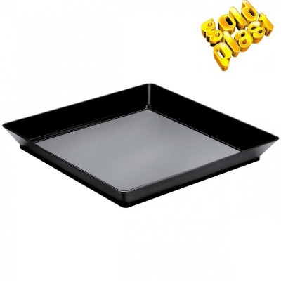 PLATO VASSOIO MEDIUM FINGUERFOOD NEGRO 13cm B12 PS