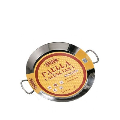 PAELLERA 50CM INOX INDUCCION