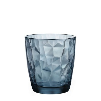 DIAMOND VASO BAJO 30CL AZUL C6