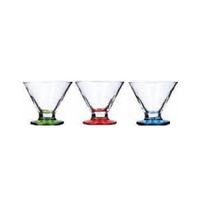** SET 3 COPA HELADO 22cl IMPER COLOR SURT GD