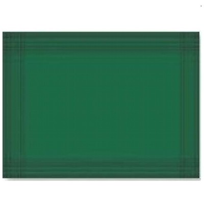 MANTEL INDIVIDUAL 30X40 VERDE OSCURO 40grs  C1000