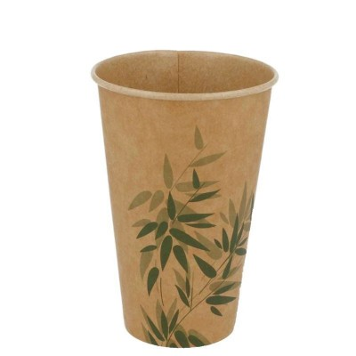 ** VASO CARTON 480ml FEL GREEN KRAFT B50 C20