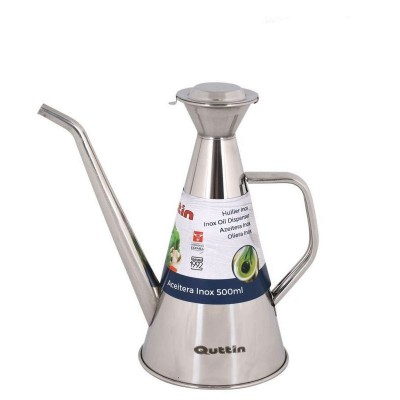 ACEITERA INOX LARGA 500ML QUTTIN