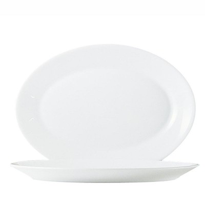 ** SET 6 FUENTES OVAL ZENIX 29CM RESTAURANT ARC