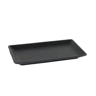 Bandeja Ming negro 20x13x2 cm C6