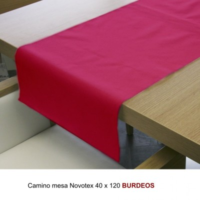 CAMINO MESA 40X120 BURDEOS NOVOTEX C400